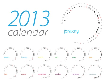 scheduler: 2013 Illustration