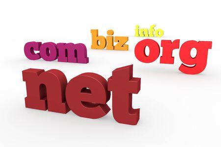 domaine, net, com, org, Banque d'images