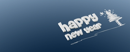 new year greetings: New year background Stock Photo