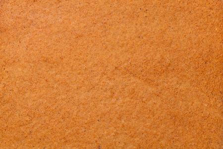 Textura de pan de jengibre para el fondo. Vista superior