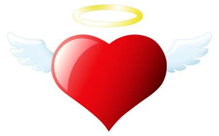 Angel heart 免版税图像 - 33808065