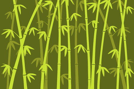 Background image of bamboo forest silhouette. 免版税图像 - 33880733