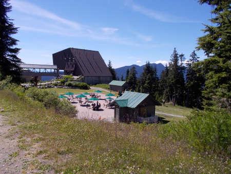 grouse: Grouse Mountain Stock Photo