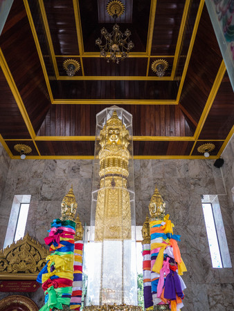 surat: Tourist Attraction, The City Pillar Shrine of Surat Thani province of Thailand. Surat Thani is province in southern of Thailand