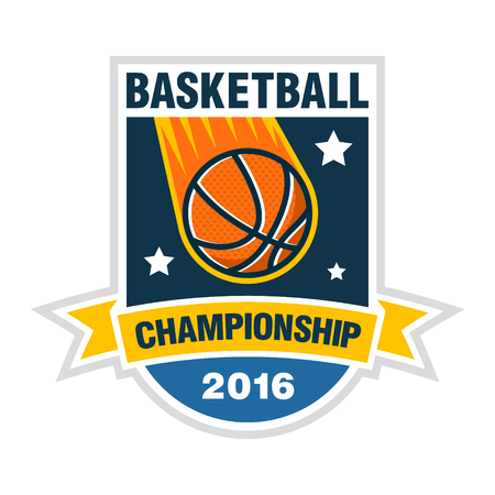 championship: Basketball championship, tournament or team concept. Illustration