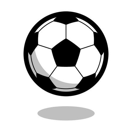 Soccer football sport ball vector line 3d icon 向量圖像