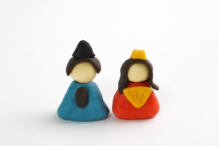 Small clay dolls photo