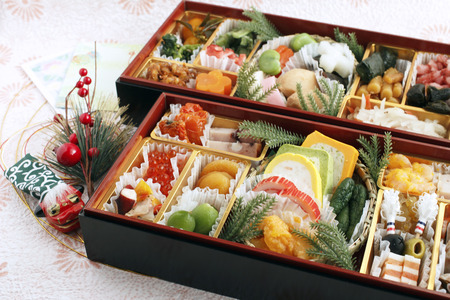 Japanese traditional New Year s dishes