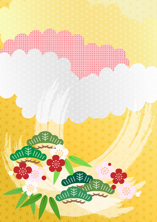 Image of New Year in Japan Vector