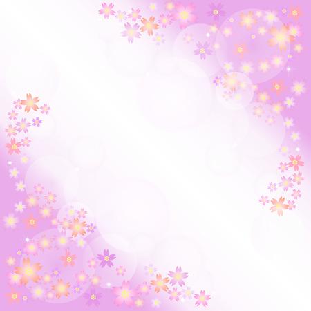 background image: Imagen de fondo de las flores de cerezo