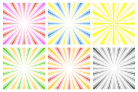 radial background: Colorful radial background