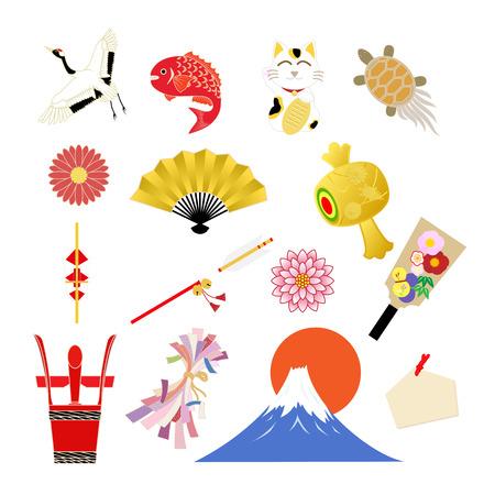 auspicious: Auspicious items to celebrate the New Year