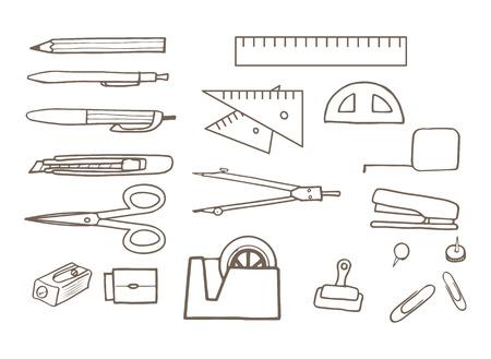 thumb tack: stationery