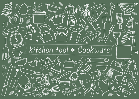 set of kitchen tools