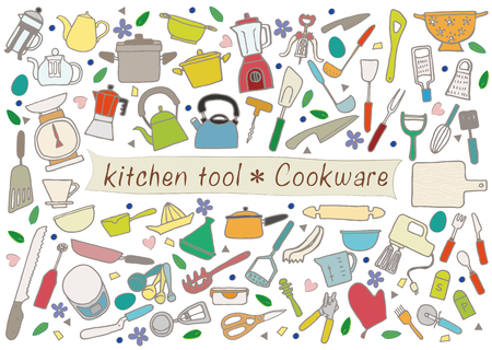kitchen tool 일러스트