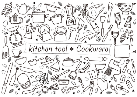 kitchen tool: kitchen tools Illustration