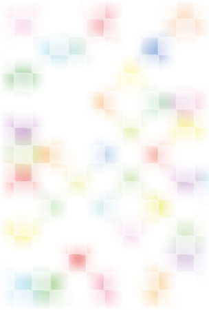 blurring: Colorful checkered pattern of blurring