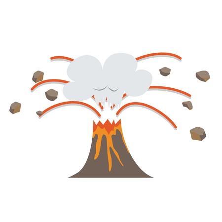 Eruption Illustration