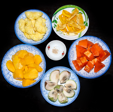 Assorted fruits Stock Photo