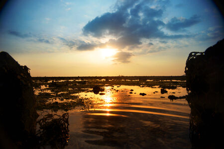 lombok: Sunset at Lombok Beach