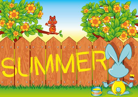 Summer Rabbit