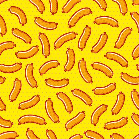 Sausages pattern
