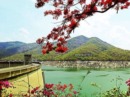 bhumibol: Bhumibol dam , Tak , Thailand