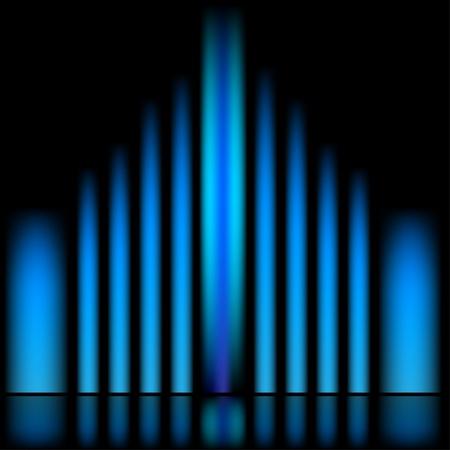 fond fluo: milieux vecteurs abstraits