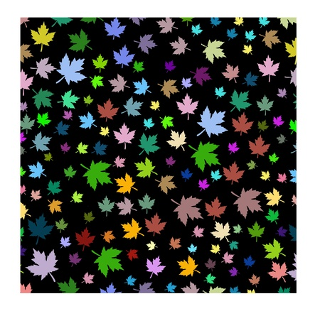 maple leafs background Illustration