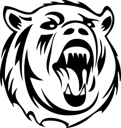 oso pardo: tener la silueta