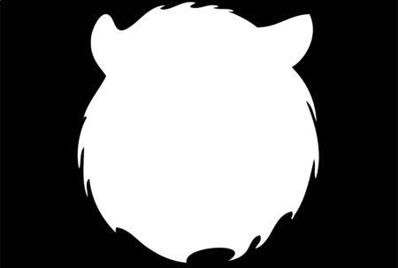 bear silhouette Stock Photo - 12047480