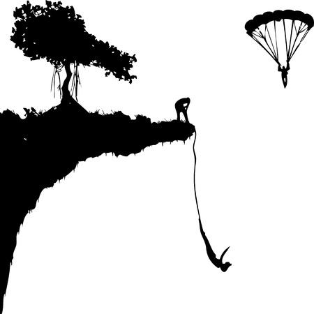 deslizamiento: salto extremo