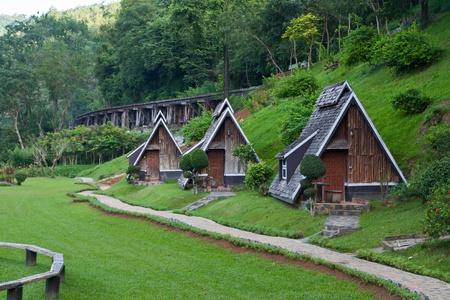Resort near the Death Railway, Thailand–Burma Railway