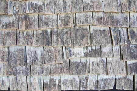 old wood roof photo