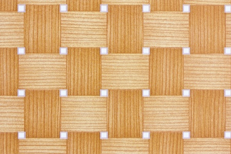 woven bamboo style wall paper photo