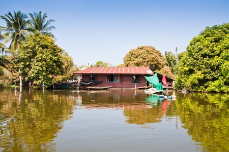 Flooded house Stock Photo - 11259809