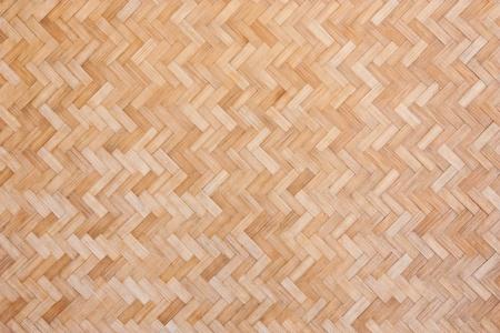 trabajo manual: La pared de bamb� tejido, trabajo hecho a mano tailandesa Foto de archivo