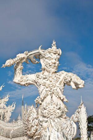 messengers of god: messenger of death statue  Stock Photo