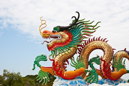 Chinese Dragon statue  Stock Photo - 12200768