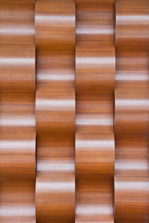 waved: Waved wood background Stock Photo