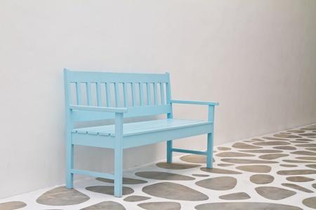 Blue chair photo