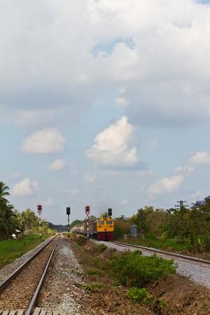 Train and railroad photo