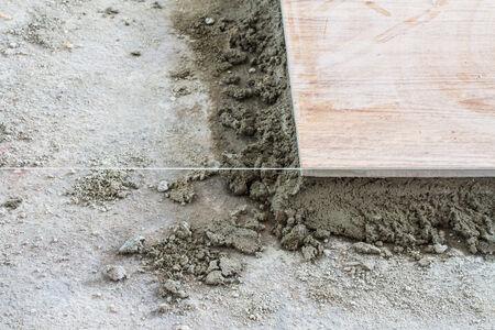 Floor tiling  photo