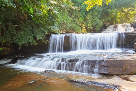Water fall, Thanthong waterfall in Nong Khai province, Thailand Stock Photo