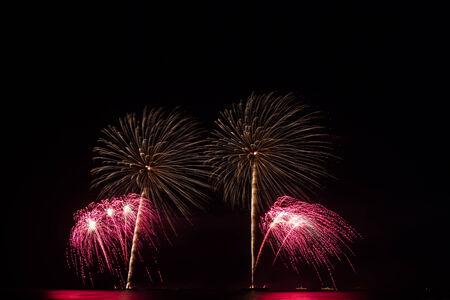 fireworks show: Fireworks show