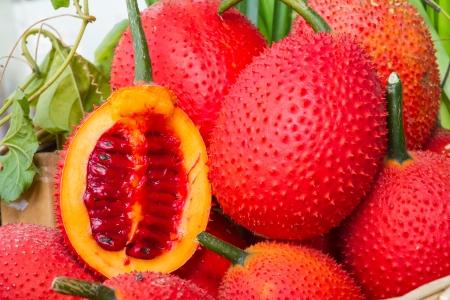 Gac fruits, Gac has been used as both food and medicine