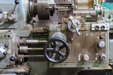 deprecated: Old lathe machine