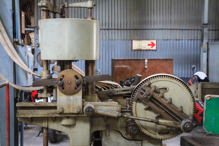 high torque: Old drilling machine