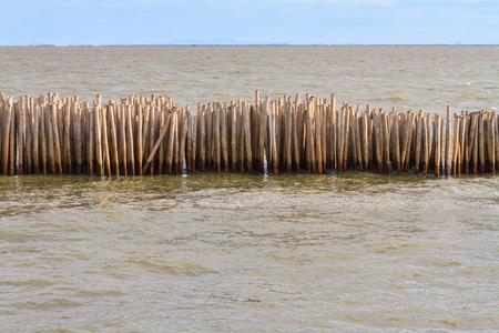 breakwater: Bamboo breakwater