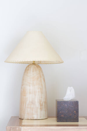 Marble Lamps with tissue box photo